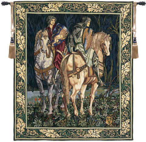 Les Chevaliers French Wall Tapestry - Tapestry Zest
