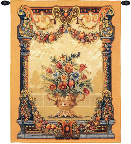 Jardin Beusmesnil French Wall Tapestry - Tapestry Zest
