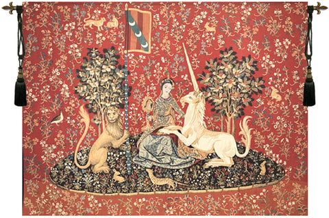 Lady and the Unicorn Sight Wall Tapestry - Tapestry Zest
