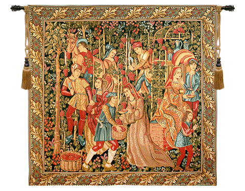 Vendange Right Panel Tapestry Wall Tapestry - Tapestry Zest