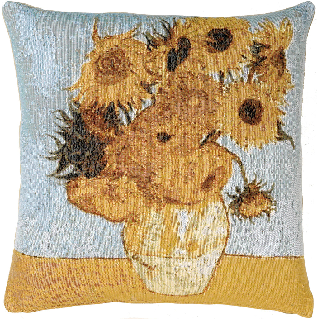 Sunflowers by Van Gogh French Cushion Cover
