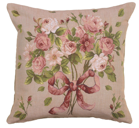 Bouquet De Roses French Cushion Cover