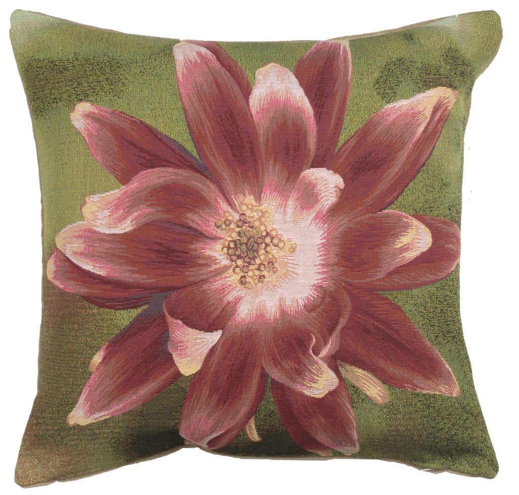 Red Star Flower French Cushion Cover
