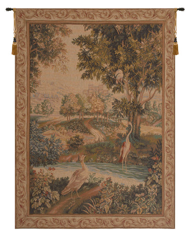 Verdure Aux Oiseaux French Tapestry - Tapestry Zest