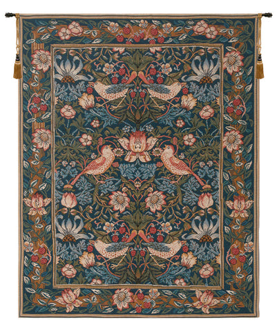 Birds Face to Face French Tapestry - Tapestry Zest