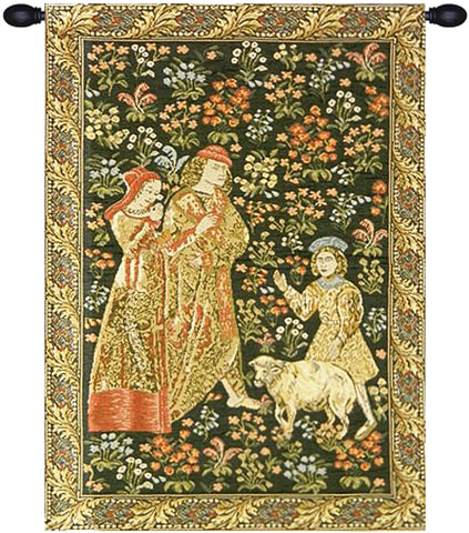 The Queen Tapestry Wall Tapestry - Tapestry Zest