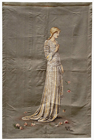 The Bride Mary French Wall Tapestry - Tapestry Zest