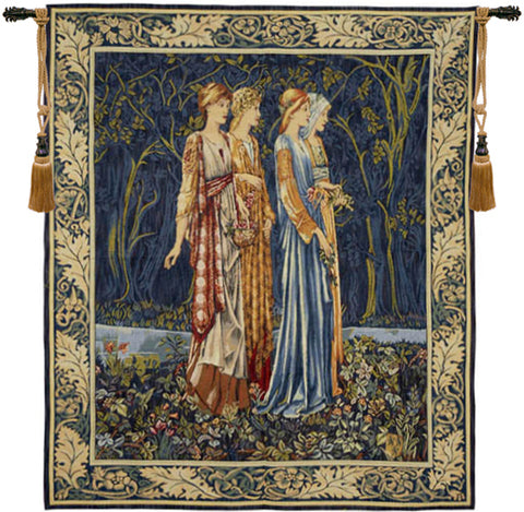 Bridesmaids Muses French Wall Tapestry - Tapestry Zest
