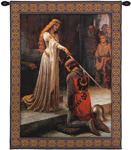 Accolade With Border European Wall Tapestry - Tapestry Zest