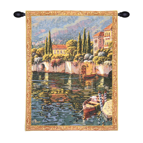 Varenna Reflections Mini European Wall Tapestry - Tapestry Zest