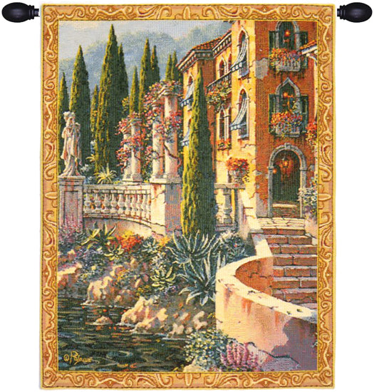 Morning Reflections Mini European Wall Tapestry - Tapestry Zest