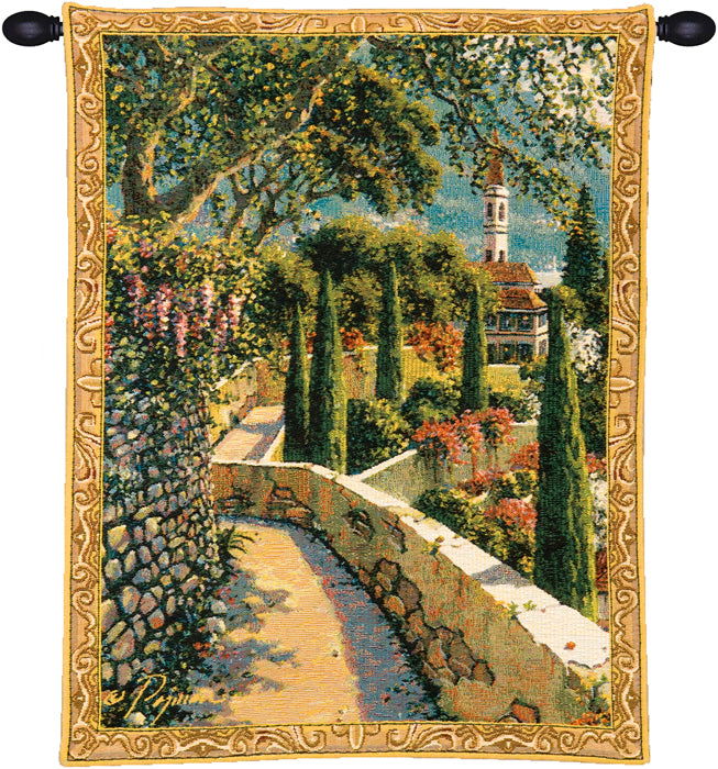 Varenna Vista Mini European Wall Tapestry - Tapestry Zest