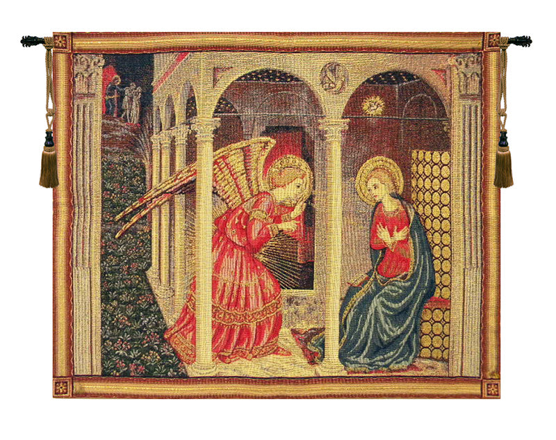 Annunciation with gold lurex - Tapestry Zest