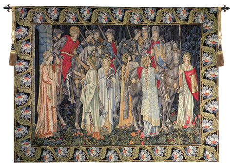 The Holy Grail European Wall Tapestry - Tapestry Zest