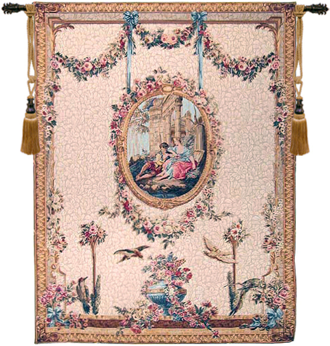 Serenade Creme French Tapestry - Tapestry Zest
