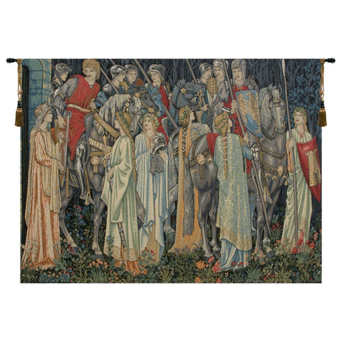 "Holy Grail European Wall Tapestry, 108""x136"""