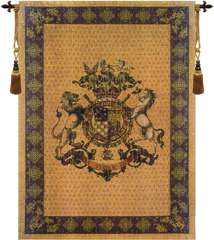 Honni Soit Qui Mal Y Pense Belgian Wall Tapestry - Tapestry Zest