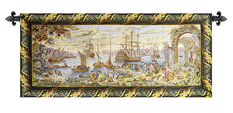 The Marina Italian Wall Tapestry - Tapestry Zest
