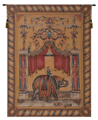 Grotesque Elephant French Tapestry - Tapestry Zest