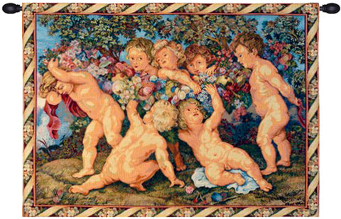 Les Amours French Wall Tapestry - Tapestry Zest