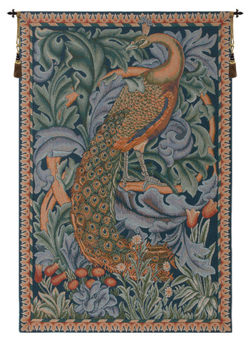 Peacock French Tapestry - Tapestry Zest