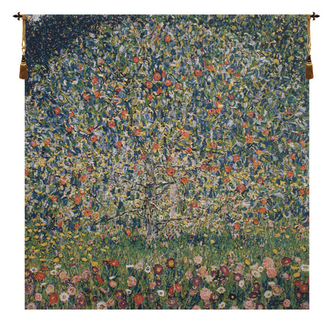 Apple Tree Klimt European Wall Tapestry - Tapestry Zest