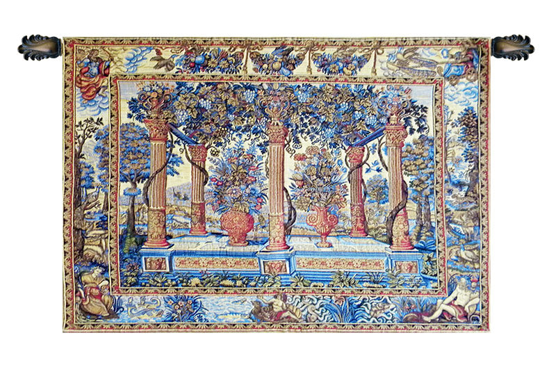 Galeries European Wall Tapestry - Tapestry Zest