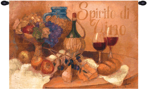 Abundant Table Fine Art Tapestry - Tapestry Zest