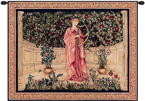 The Minstrel French Tapestry