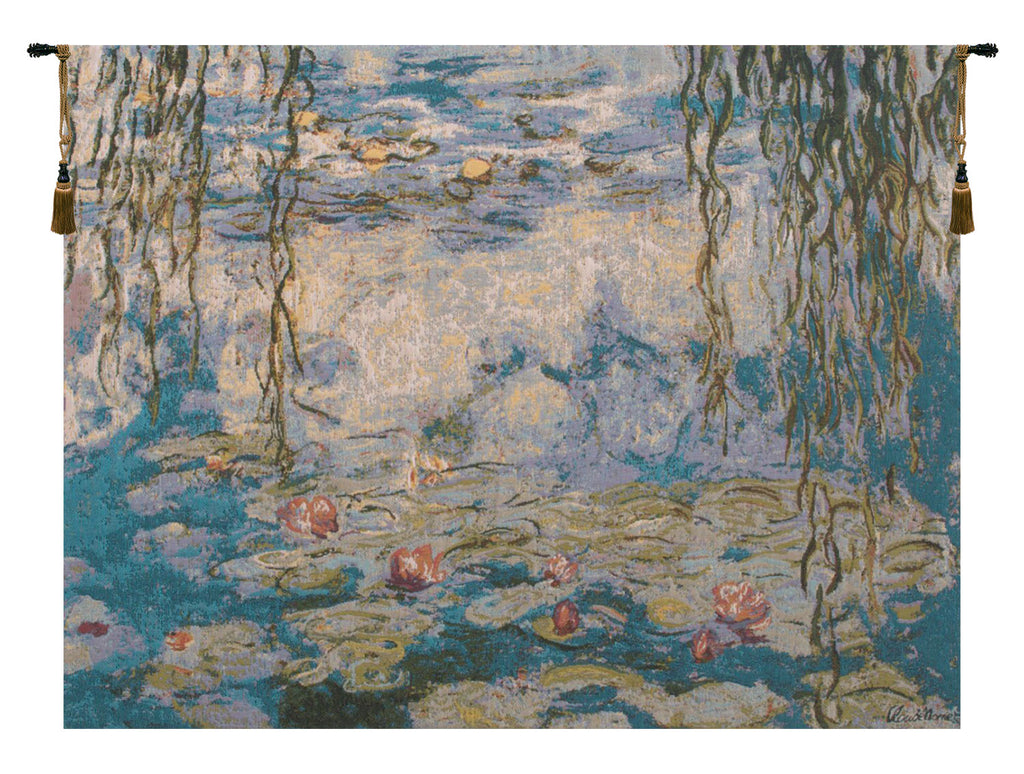 Water Lilies Les Nympheas European Tapestry