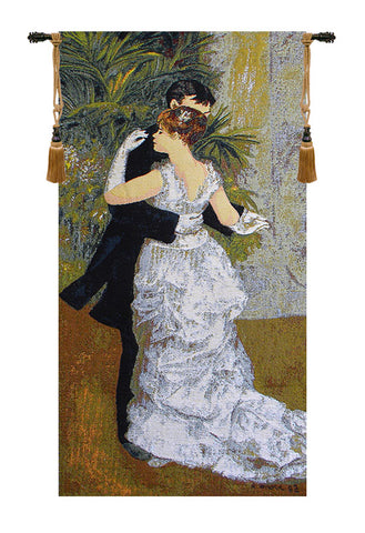 Dance In The City by Renoir European Wall Tapestry - Tapestry Zest