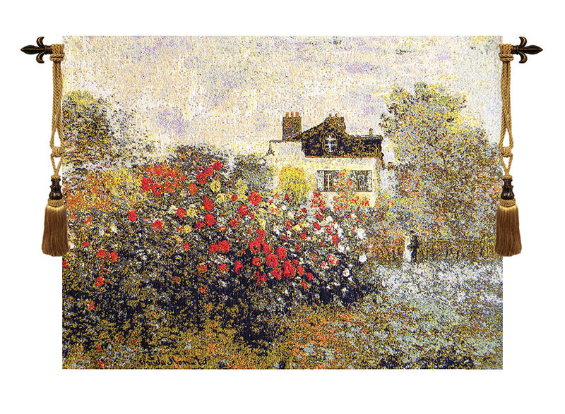 The House Of Claude Monet European Wall Tapestry - Tapestry Zest
