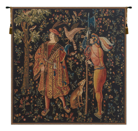 Falconer Mille Fleure European Wall Tapestry - Tapestry Zest
