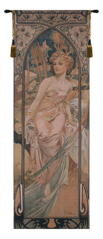 Mucha Matin European Wall Tapestry - Tapestry Zest