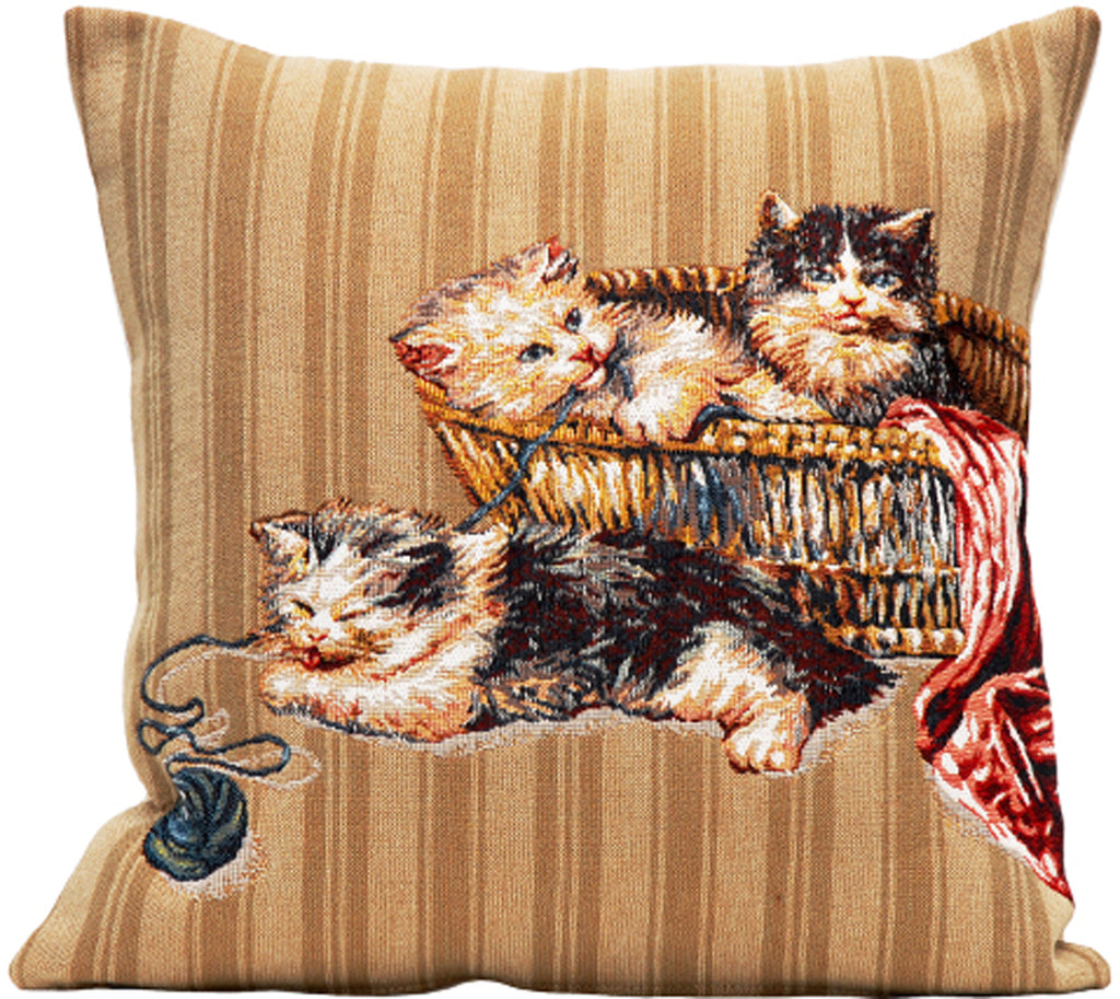 Pelotte French Cushion Cover