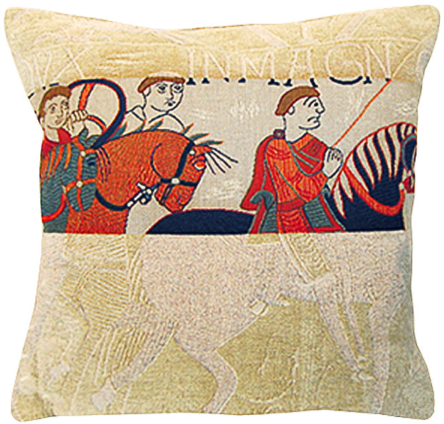 Damas Cavaliers French Cushion Cover