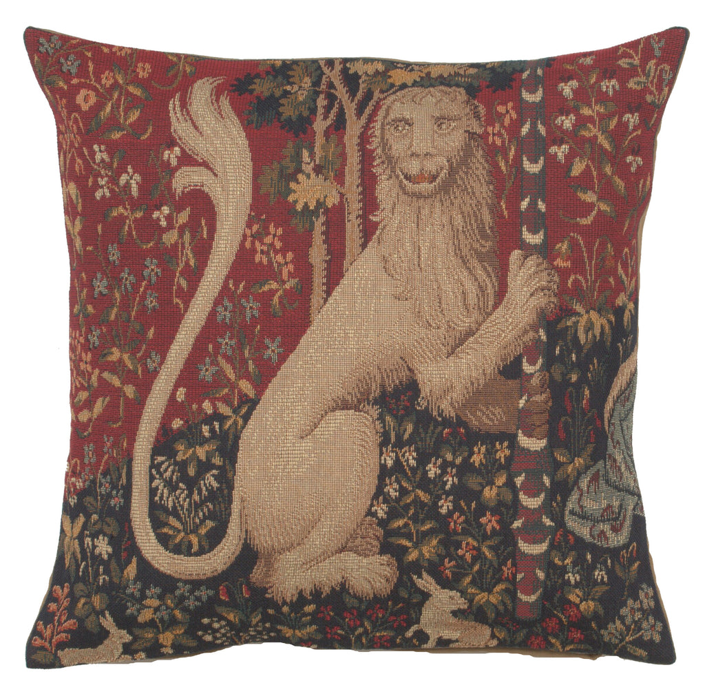 The Lion French Cushion Cover