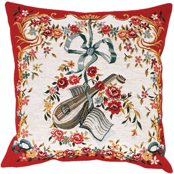 Mandoline Rouge French Cushion Cover