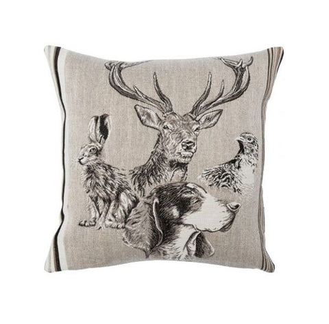 Forest Spirit Cerf French Cushion Cover