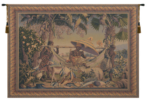 King Borne Old World Colors Belgian Tapestry Wall Art - Tapestry Zest