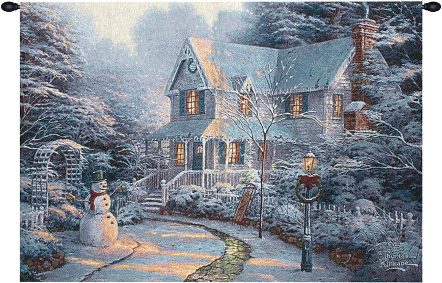 The Night Before Christmas Wall Tapestry - Tapestry Zest