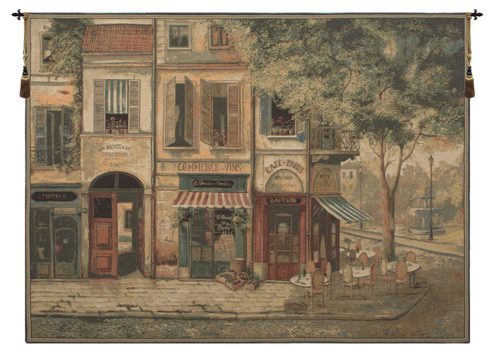 Rue De Paris European Tapestry