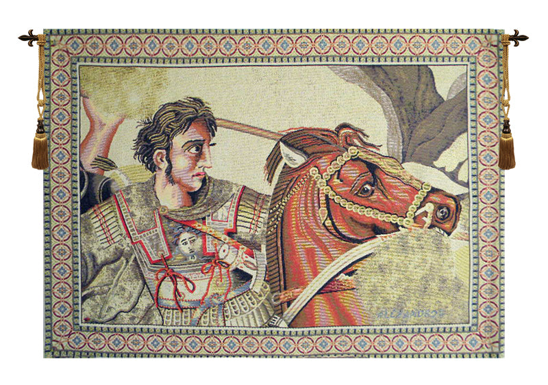 Alexander The Great Italian Wall Tapestry - Tapestry Zest