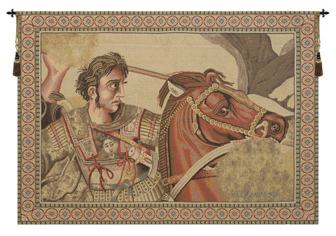 Alexander The Great Italian Tapestry