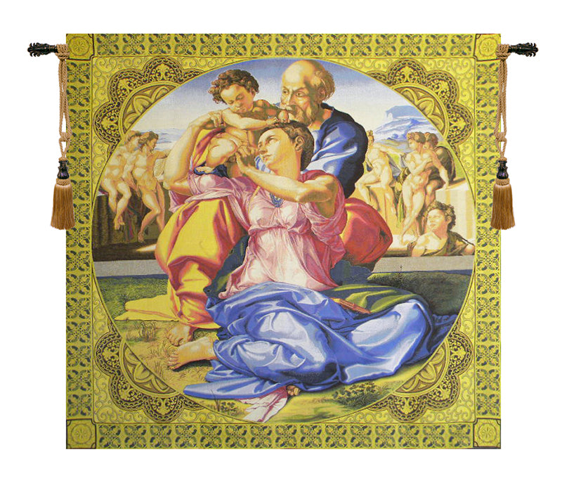 Sacred Family Italian Wall Tapestry - Tapestry Zest