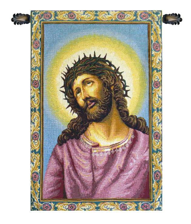 Christ's Thorns Coronation Italian Wall Tapestry - Tapestry Zest
