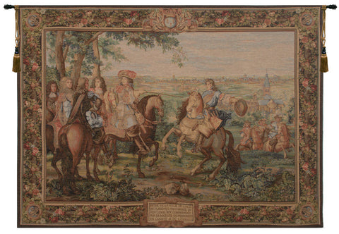 La Prise de Lille French Tapestry - Tapestry Zest