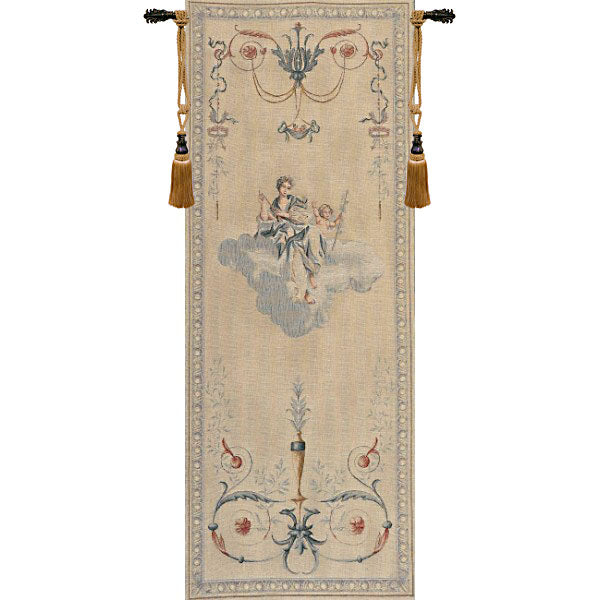 Portiere Blue Lady French Tapestry - Tapestry Zest