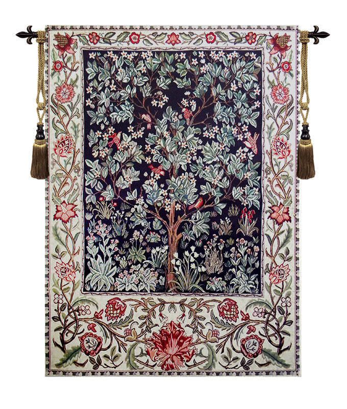 Tree of Life Brown Wall Tapestry - Tapestry Zest