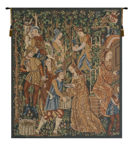 Vendanges, Right Side (Rust) Tapestry - Tapestry Zest